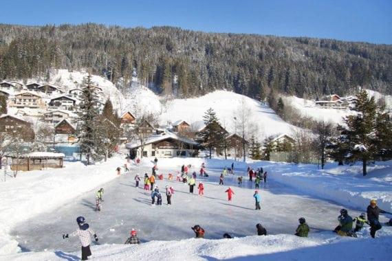Eislaufen - Winterurlaub in Radstadt, Salzburger Land