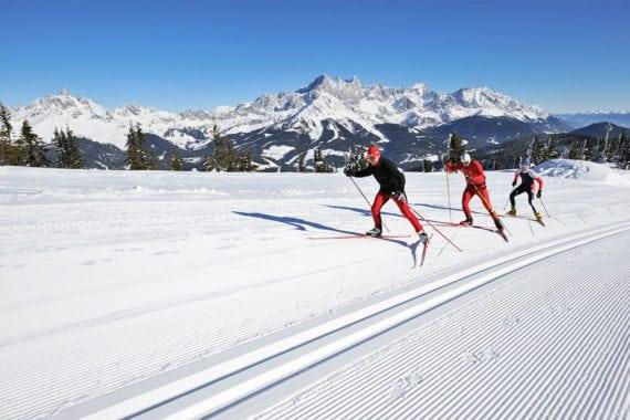 Langlaufen - Winterurlaub in Radstadt, Salzburger Land