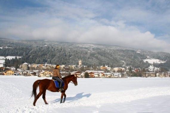 Winterreiten - Winterurlaub in Radstadt, Salzburger Land
